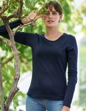 Ladies` Long Sleeve Interlock Tee