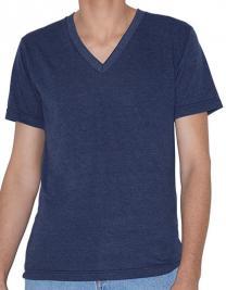 Unisex Tri-Blend Short Sleeve V-Neck T-Shirt