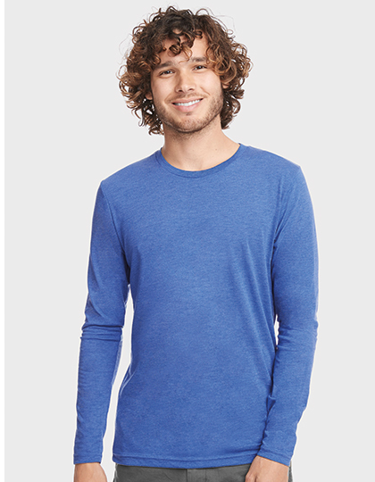 Men`s Long Sleeve Tri-Blend T-Shirt